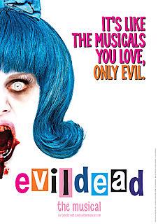 Evil dead hairspray
