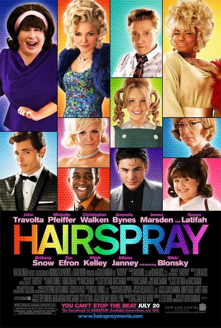 Hairpsray movie poster