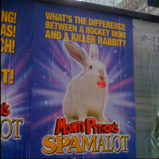 Speaking of Spamalot...