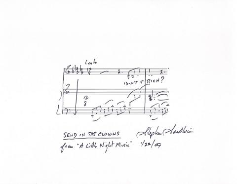 Sondheim signature