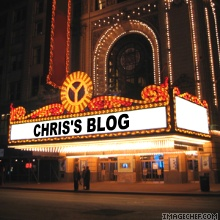 Chris blog marquee