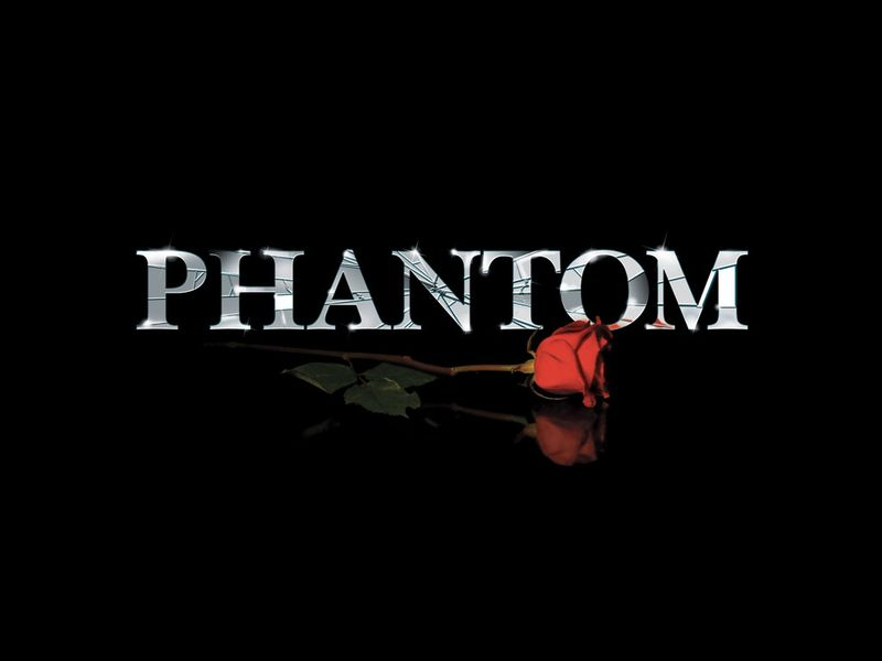 Phantom logo rose