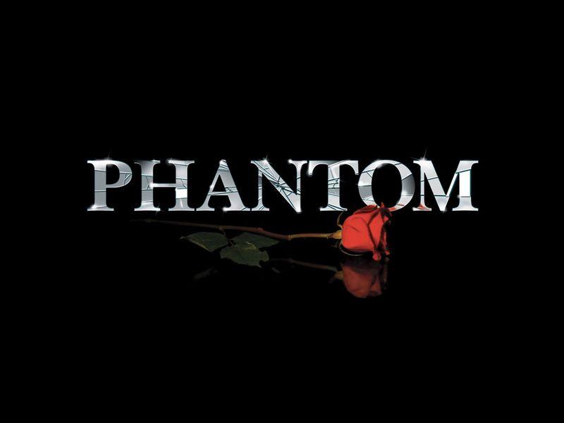 Phantom logo rose
