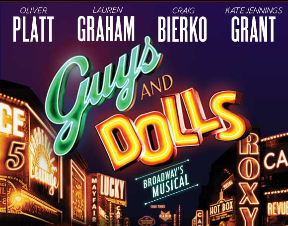 Guys and dolls 2009 with cast