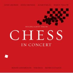 Chess concert cd